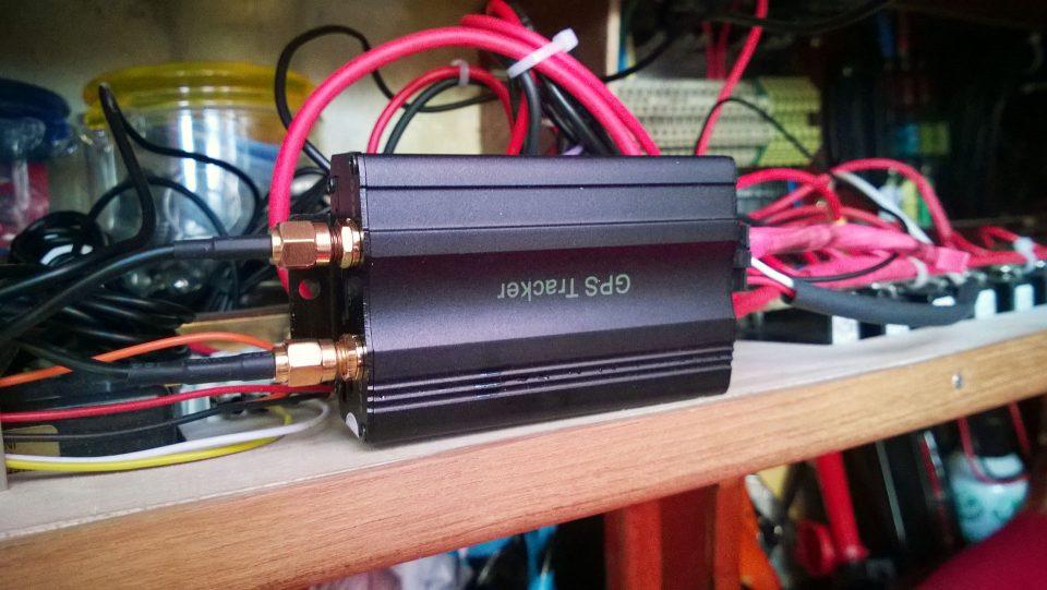 GPS-jäljitin mallia TK103.